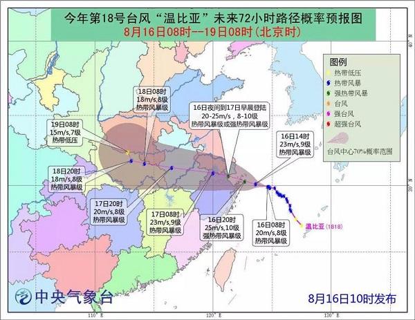 """防台风""""温比亚""""  上海转移安置近1.27万人  拆除6185块店招店牌"""