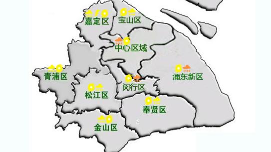 上海中心气象台今日5时58分发布暴雨橙色预警信号