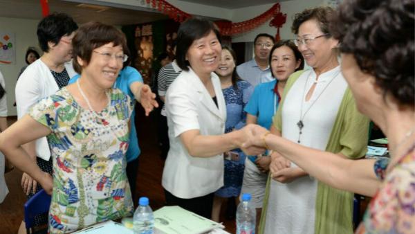 全国妇联主席沈跃跃在沪调研: 引领广大妇女听党话跟党走