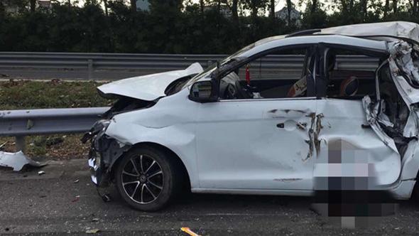 今晨G1501上海绕城高速两车追尾致1死6伤