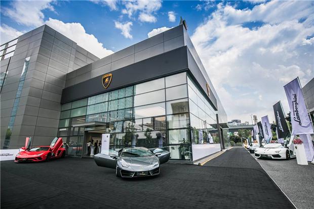 杭州全新展厅开业 兰博基尼在华网络持续升级