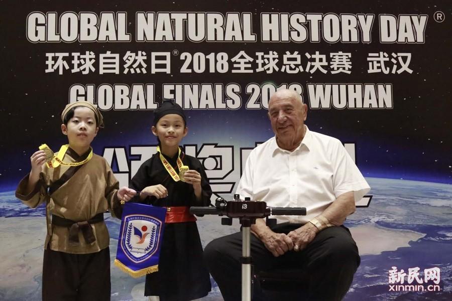 上外尚阳学子在2018年度环球自然日全球总决赛中再创佳绩