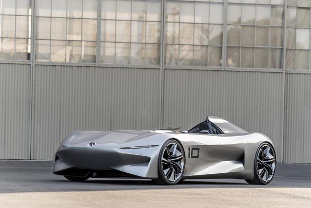 英菲尼迪全新电动概念车Prototype 10圆石滩车展全球首秀
