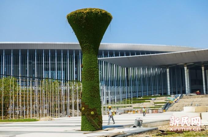 国家会展中心场馆改建工程进入冲刺阶段