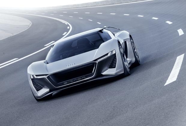奥迪PB18 e-tron概念车圆石滩车展全球首秀