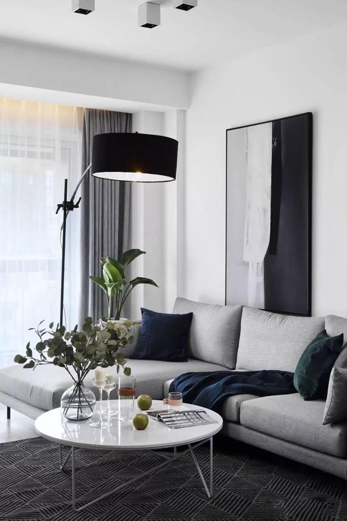 110㎡简约三居,安静舒适、纯净明朗的宜住空间