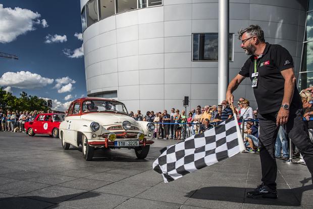 斯柯达六款车型参加萨克森经典车拉力赛