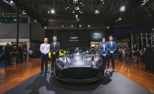 阿斯顿·马丁成都车展展现DB 70周年荣耀传奇