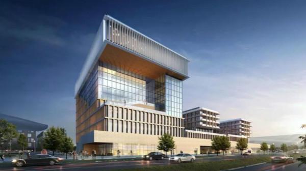 临港新地标!大型图书馆坐落港城广场!预计2021年建成