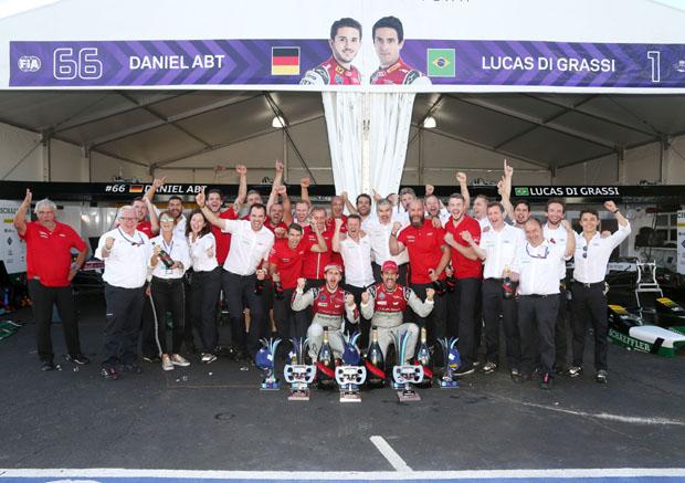 奥迪确认继续征战Formula E和DTM