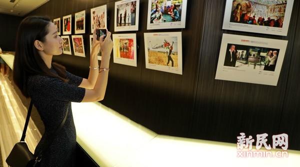 《百名摄影师聚焦上海》画册首发式暨图片巡展开幕式举行