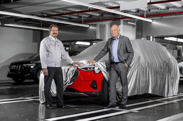 奥迪e-tron纯电动SUV正式投入量产