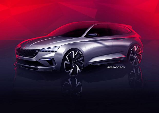 斯柯达VISION RS概念车设计图发布