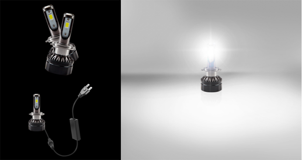 欧司朗推出LED替换升级头灯