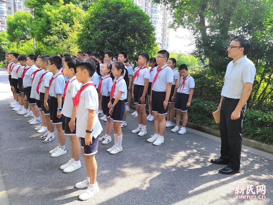 上外尚阳学校:立新姿 展新貌 树新风