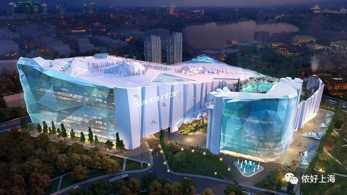 超酷!上海将建全球最大室内滑雪场!