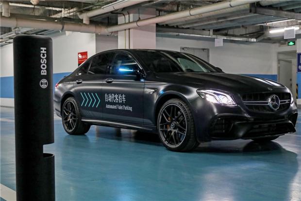 戴姆勒和博世自动代客泊车技术首次在华展示