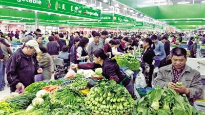 晨读 | 菜市场,上海早晨的独特风景线