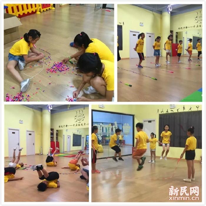 钱圩小学:跃动上海,绳舞飞扬