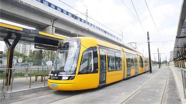 松江有轨电车一期今起不载客试运行 预计12月底开通试运营