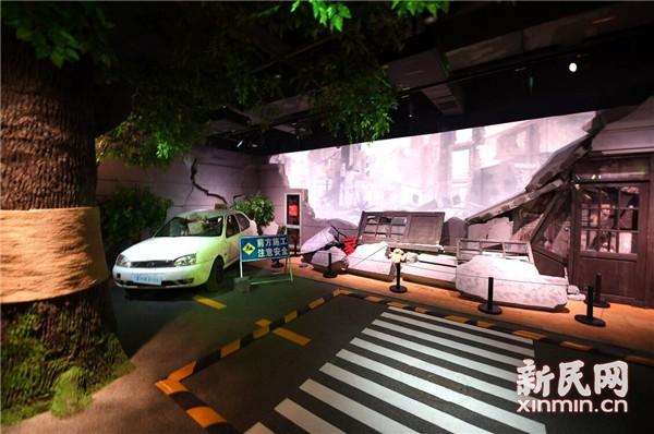 8大类场景模拟再现 上海市公共安全教育实训基地来了!插图3