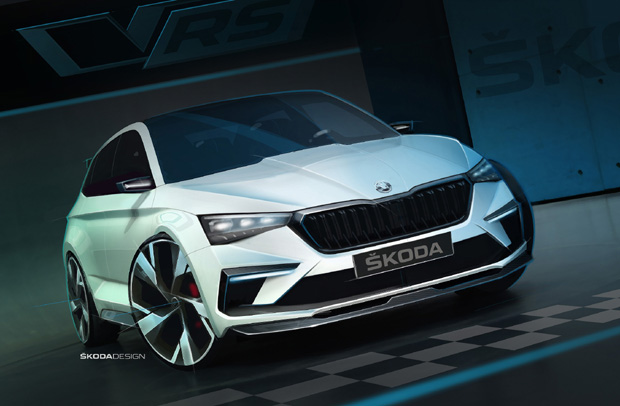 斯柯达VISION RS概念车 彰显动感、可持续的未来