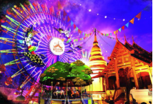 """""""暹罗传奇"""" (Legend Siam) 来华宣传首个绝无仅有的泰文化主题公园"""