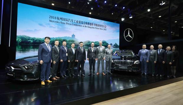 奔驰多款新车2018杭州车展上市