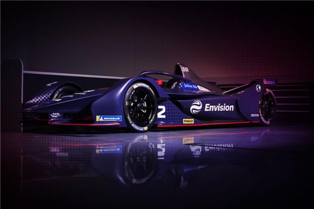 远景维珍车队发布电动方程式新赛季赛车图片