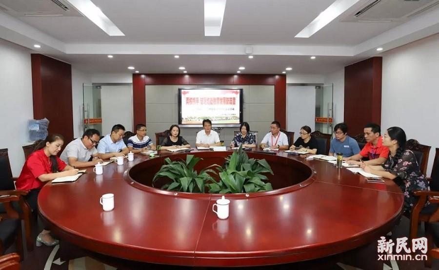 廊下中学、广陈中学新学期教育教学研讨交流活动举行