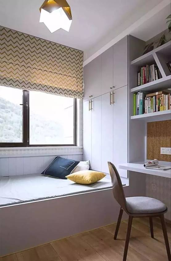 榻榻米床+柜子如何组合设计?30个案例告诉你...