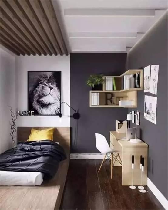 卧室书房一体化可以这么设计