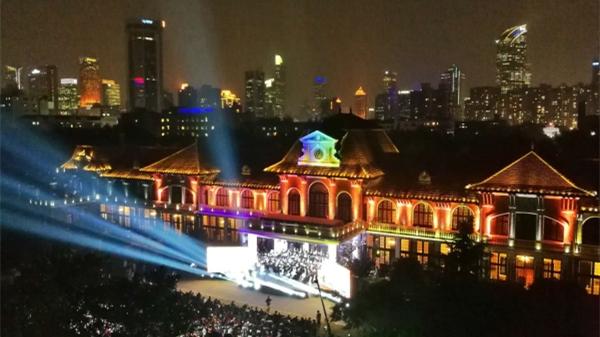 秋夜的美好!草坪音乐会奏响上海科学会堂