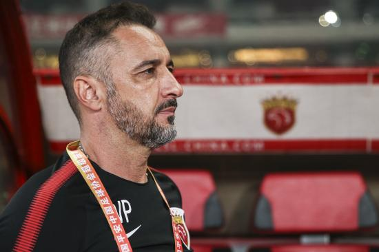 禁赛三场罚款2.1万元 上港主帅佩雷拉缺席与恒大关键战