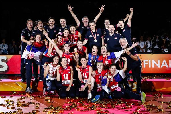 600万人口的塞尔维亚逆袭:女排首夺世锦赛冠军