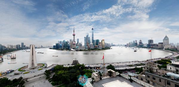 上海外滩大像素全景
