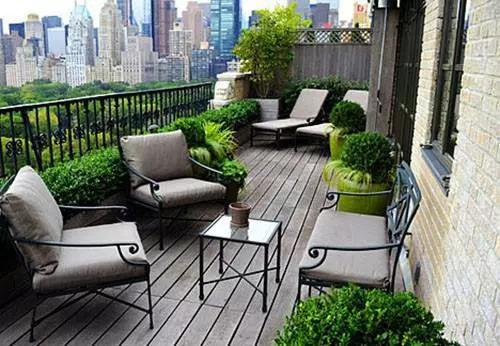 露台上的秘密花园