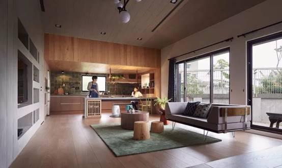 如此开放式厨房,才是中国式家庭社交新空间