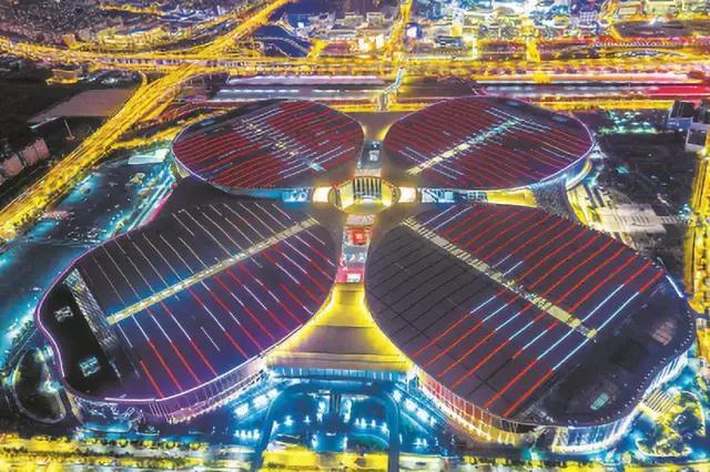 太惊艳!进博会让上海美出新高度!全城享福利!