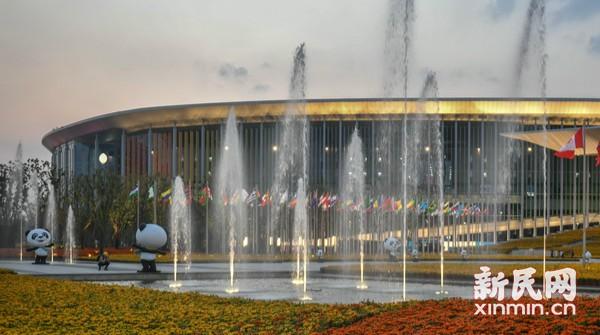进口博览会一展尽览全世界