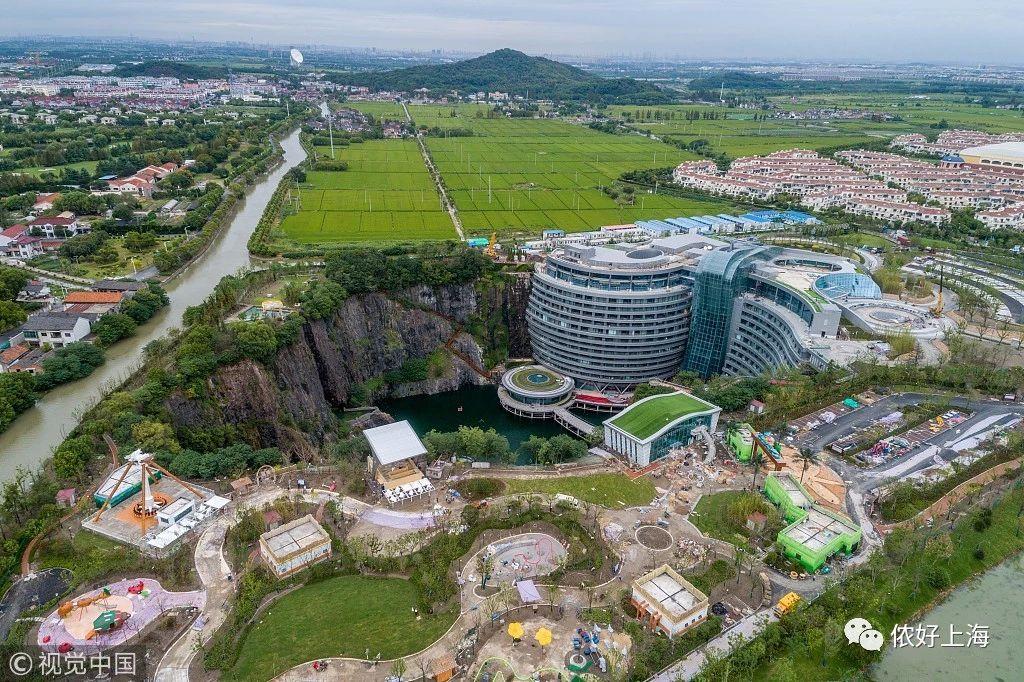 世界建筑奇迹!上海深坑酒店这个月终于要开了!
