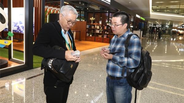 印尼工商会馆中国委员会副主席张锦泉:希望中国人民喜欢印尼特色产品