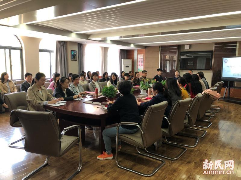 上海市梅陇中学:师徒带教 薪火相传