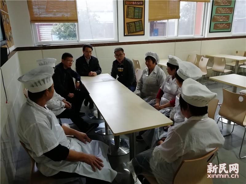 钱圩中学召开食品安全紧急会议