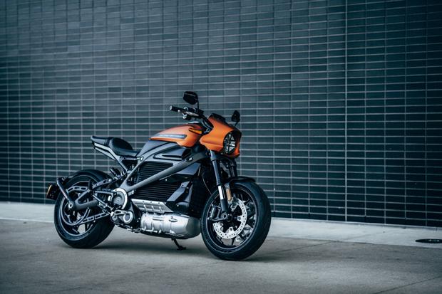 哈雷戴维森首款纯电动摩托车亮相米兰车展
