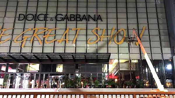 """No Zuo No Die 被曝""""辱华""""之后 Dolce&Gabbana大秀改期"""