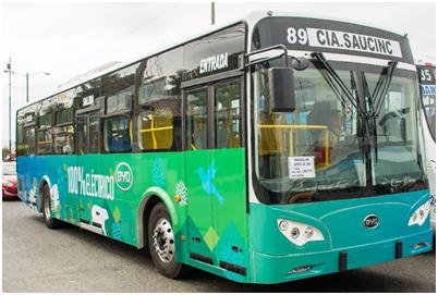 厄瓜多尔下单比亚迪打造首支纯电动大巴车队
