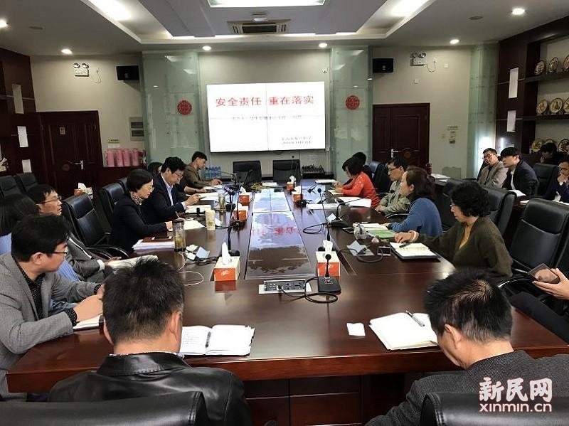 奉贤中学:安全责任 重在落实