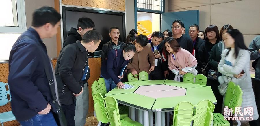 贵州省、云南省、西藏自治区校(园)长一行到洛川学校访问交流
