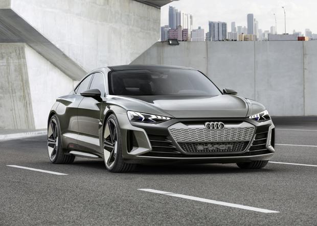 奥迪e-tron GT概念车洛杉矶车展全球首秀